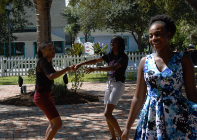Milagro Center Youth Program Performance during RISE: Climate & Art Weekend