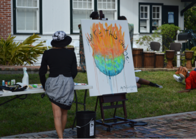 Using Art to Convey the Message of Climate Change During RISE: Climate & Art Weekend